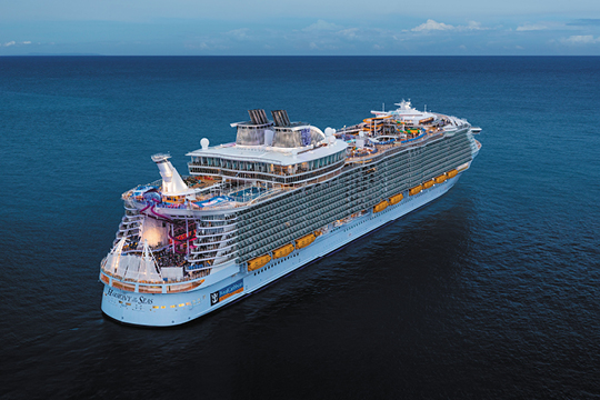 Багамы, Пуэрто Рико, Сент-Китс Невис на Harmony of the Seas