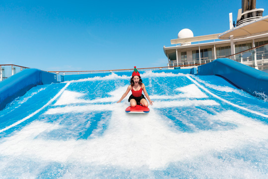 FlowRider на Oasis of the Seas